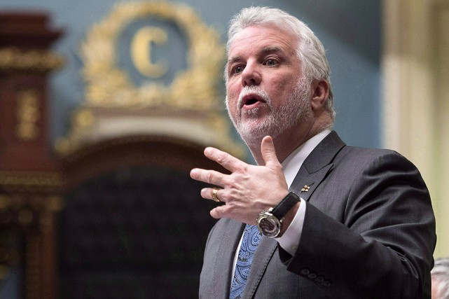 Philippe Couillard... (Jacques Boissinot, archives PC)
