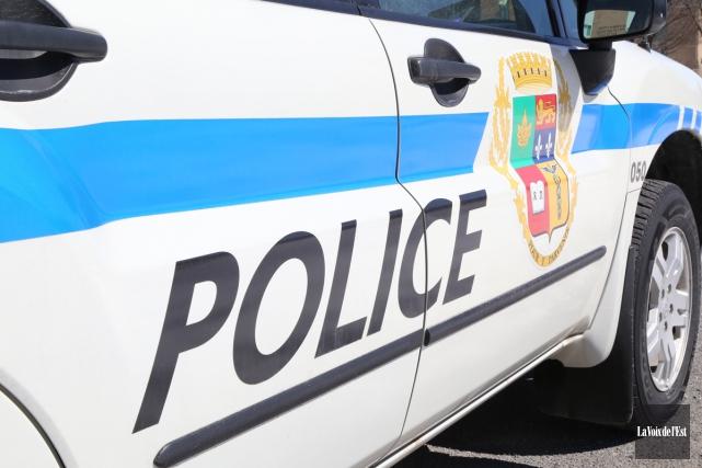 Lorsque les policiers sont arrivés sur les lieux,... (Janick Marois, archives La Voix de l'Est)