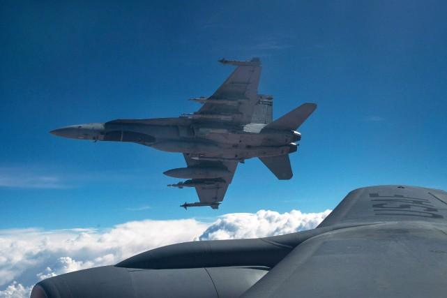 Environ 180 membres des Forces armées canadiennes participent... (fournie par La Presse canadienne)