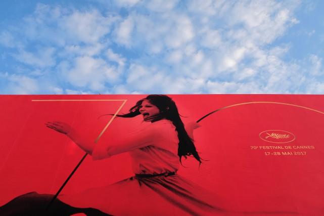 Une cinéaste du Nouveau-Brunswick a foulé le tapis rouge du Festival de Cannes,... (PHOTO AFP)