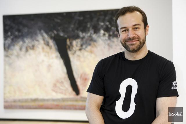 Fabien Gabel, chef de l'Orchestre symphonique de Québec... (Le Soleil, Caroline Grégoire)
