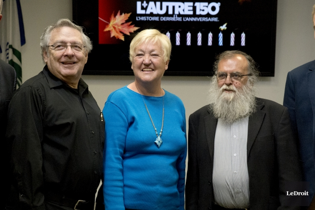 Raymond Ouimet, Paulette Beaudry et Roger Blanchette ont... (Martin Roy, Le Droit)