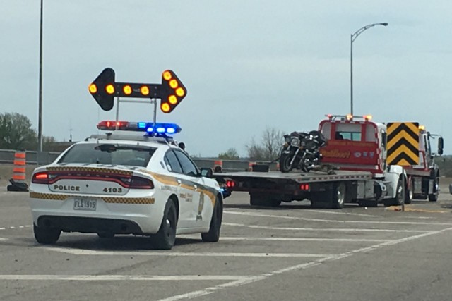 Un accident impliquant deux motocyclistes s'est produit,dimanche après-midi...