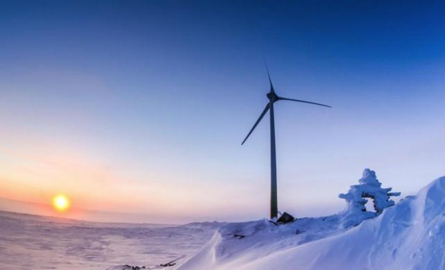 Pierre Rivard souligne les avantages de produire de... (PHOTO JUSTIN BULOTA FOURNIE PAR TUGLIQ ENERGY)