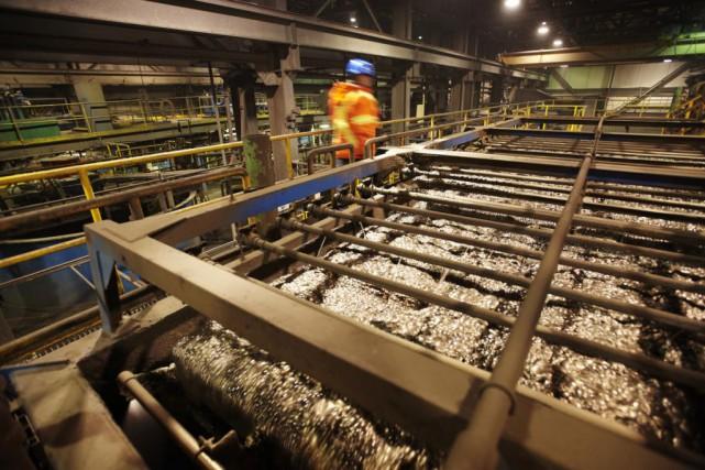 Dans l'antre de la mine de nickel Raglan,... (Photo fournie par Glencore)