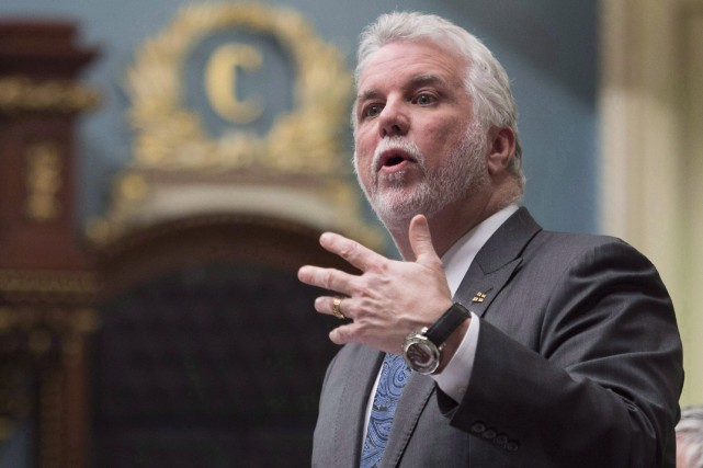 Philippe Couillardcherchera à provoquer chez le premier ministre... (Archives, La Presse canadienne)