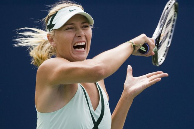 Maria Sharapova... (archives La Presse Canadienne)