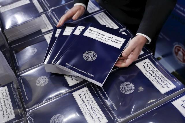 L'administration Trump a envoyé mardi au Congrès son... (AP, Pablo Martinez Monsivais)