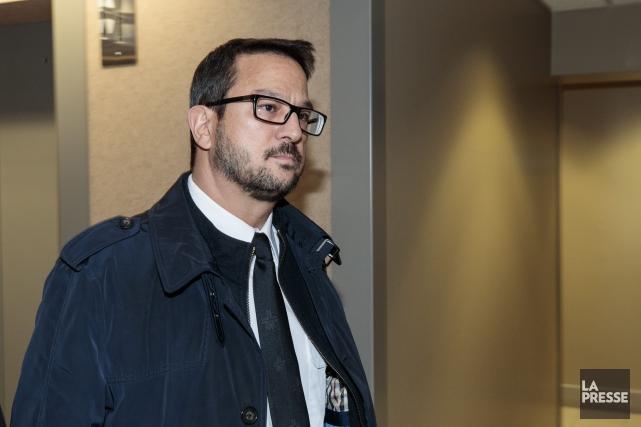 L'inspecteur-chef Costa Labos.... (PHOTO HUGO-SEBASTIEN AUBERT, LA PRESSE)