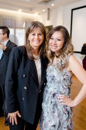 Fabienne Larouche et Viviane Nguyen, de la Fondation... (Photo fournie par la Fondation)