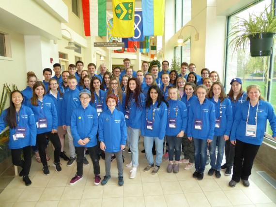 Le Québec était représenté par une délégation de... (Photo fournie par le Réseau Technoscience)