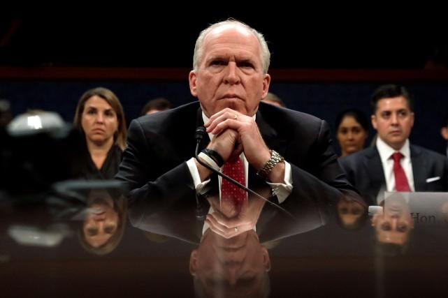 L'ex-patron de la CIA, John Brennan.... (PHOTO ARCHIVES REUTERS)
