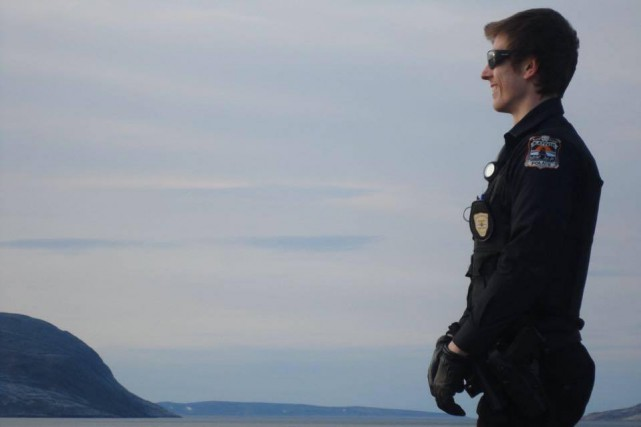 Le policier Thierry LeRoux.... (Tirée de Facebook)