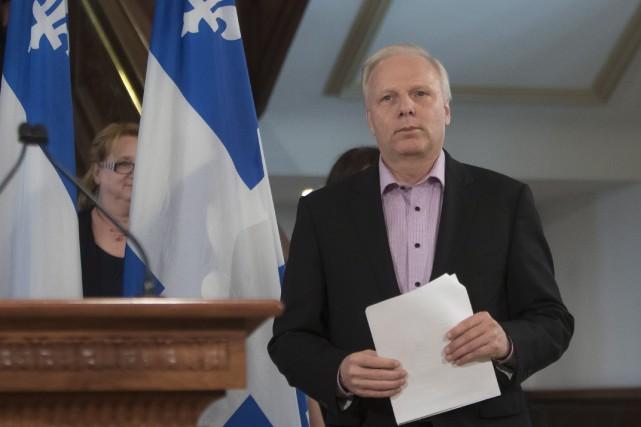Le chef du Parti québécois, Jean-François Lisée... (PHOTO Clément Allard, LA PRESSE CANADIENNE)