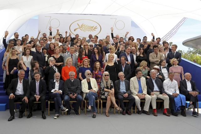 Le festival a rassemblé plus de 100 participants... (Agence France-Presse)