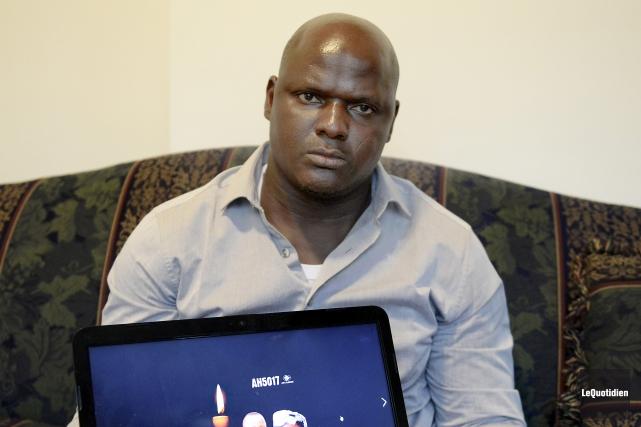Bassirou Yameogo, originaire du Burkina Faso, et qui... (Le Quotidien, Jeannot Lévesque)