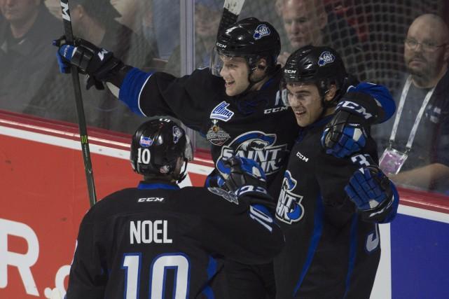 Cette victoire des Sea Dogs est le résultat... (Photo Adrian Wyld, La Presse canadienne)