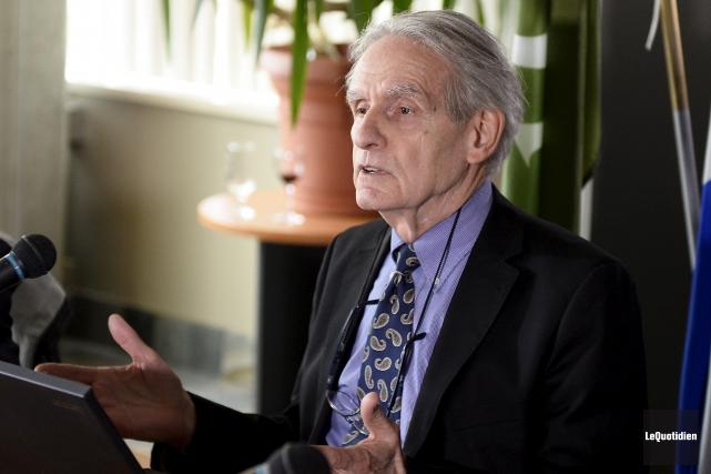 Le professeur Gérard Bouchard.... (Le Quotidien, Jeannot Lévesque)