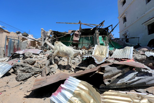 Une attaque a aussi eu lieu à Mogadiscio,... (Photo Feisal Omar, archives REUTERS)