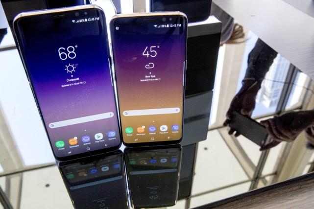En lançant ce téléphone dernier cri, Samsung espérait... (AP)