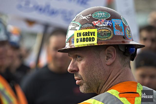 Québec estime que la grève dans l'industrie de... (Patrick Sanfaçon, La Presse)