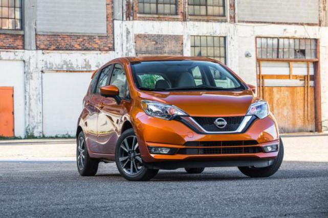 La Nissan Versa Note... (PHOTO FOURNIE PAR LE CONSTRUCTEUR)