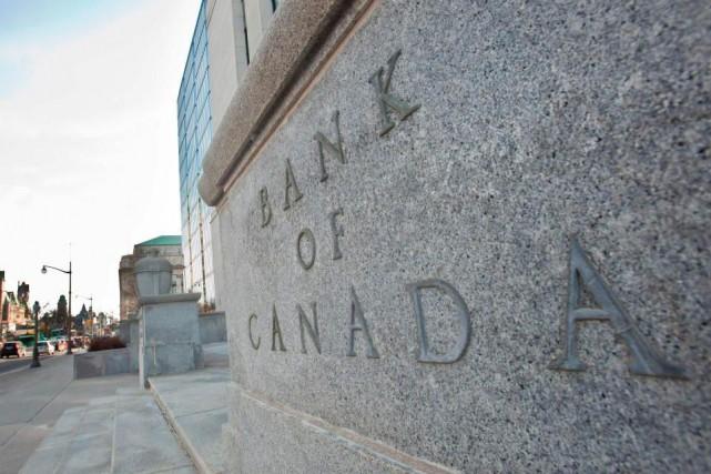 La Banque du Canada maintient son taux directeur.Les... (Archives, AFP)