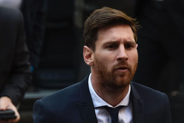 Lionel Messi... (Photo Josep Lago, archives AFP)