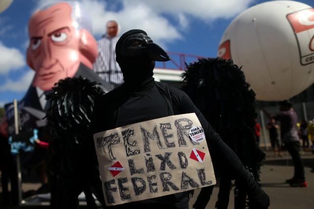 La journée de mobilisation de mercredi vise à... (Photo Adriano Machado, REUTERS)