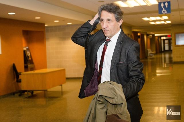 Amir Khadir, lors du procès.... (Ninon Pednault, archives La Presse)