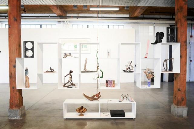 L'exposition solo de BGL à la Parisian Laundry,... (Photo Bernard Brault, La Presse)