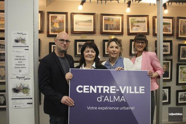 Frédéric Tremblay, conseiller municipal et administrateur de Centre-Ville... (Photo Le Quotidien, Isabelle Tremblay)