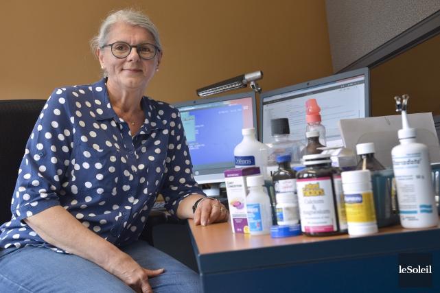 France Leblanc est infirmière au Centre antipoison depuis... (Photo Le Soleil, Yan Doublet)