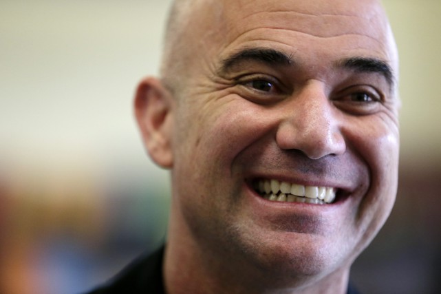 Andre Agassi... (Photo Julio Cortez, archives AP)