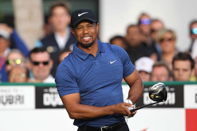 Tiger Woods dit avoir fait tout son possible... (PHOTO AFP)
