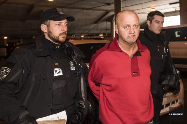 Gaétan Couture a été arrêté à la mi-février... (Archives, La Tribune)