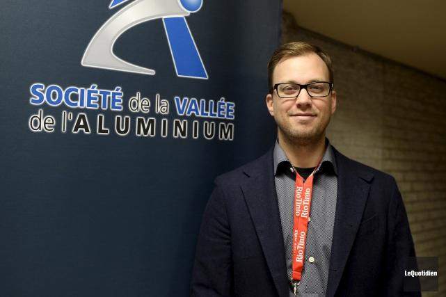 Jean-Benoit Pineault, directeur général de Réfraco, est président... (Le Quotidien, Jeannot Lévesque)