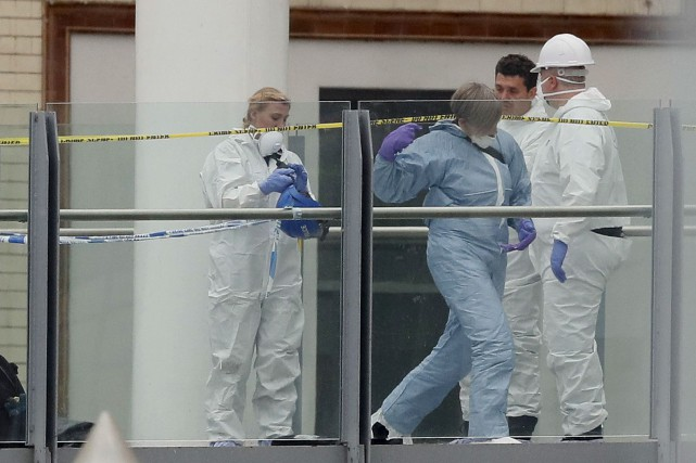 Pour les services antiterroristes britanniques, ces fuites d'informations... (AP, Kirsty Wigglesworth)