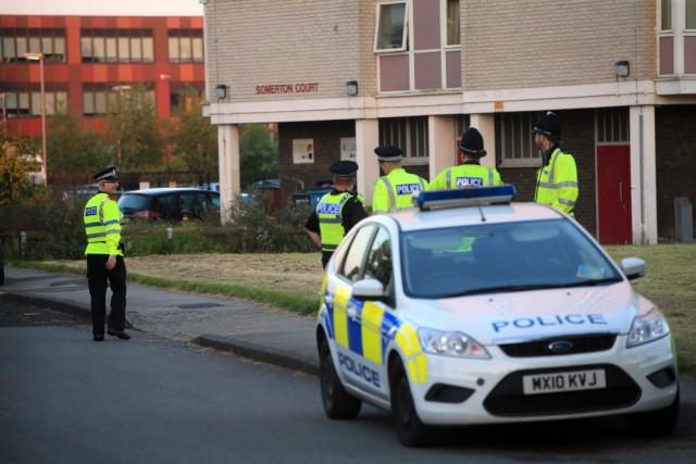 La police s'est rendue mercredi dans le nord... (PHOTO AP)