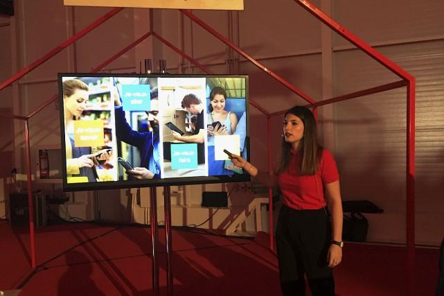 Claudia Bertuccini, de Google Canada, expliquait aux entrepreneurs... (Collaboration spéciale Yves Therrien)