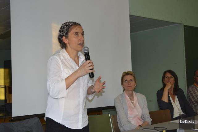 DreBrigitte Pinard, médecin-conseil en santé environnementale à la... (Benoit Sabourin, Le Droit)