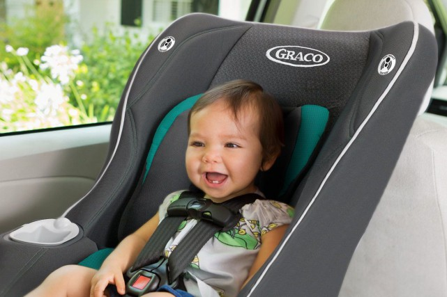 L'entreprise Graco Children procède au rappel de 1 393 sièges d'auto pour... (Image tirée de Twitter, Graco)