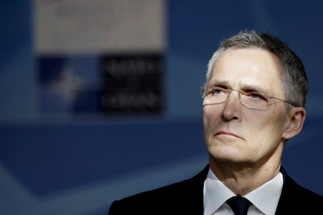 Jens Stoltenberg... (Photo Matt Dunham, Associated Press)