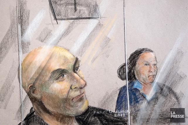 Image du début du procès de l'ex-entraîneur Bertrand... (Image ARCHIVES LA PRESSE)