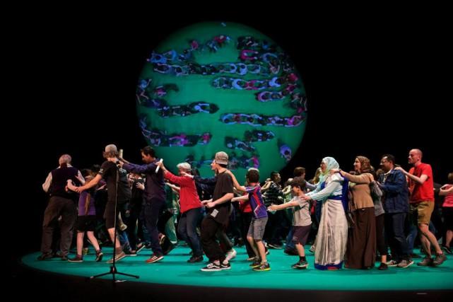 Le spectacle 100 % Montréal mise sur une... (Photo André Pichette, La Presse)