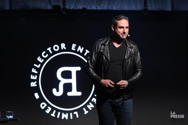 Alexandre Amancio, cofondateur et directeur général de Reflector... (Photo Martin Chamberland, La Presse)