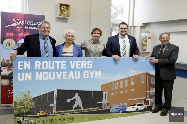 Saguenay investit 800000$ dans le projet «En route... (Photo Le Quotidien, Jeannot Lévesque)