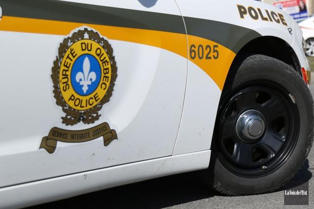 Un jeune homme de Drummondville a été arrêté... (Archives, La Voix de l'Est)