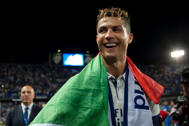 Cristiano Ronaldo... (Photo Sergio Camacho, AFP)
