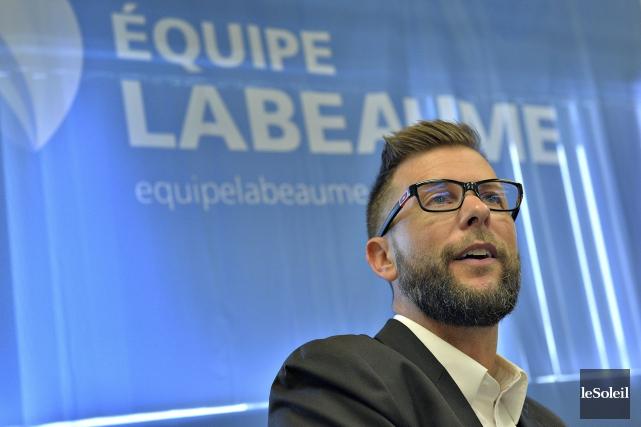 Sylvain Légaré avait quitté Équipe Labeaume en décembre... (Le Soleil, Patrice Laroche)